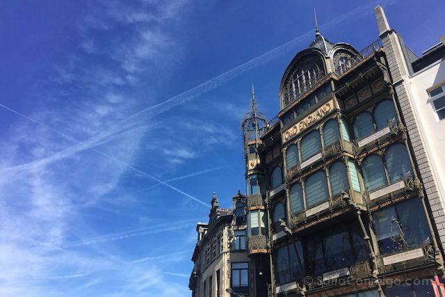 Bruselas Art Nouveau Museo Instrumentos Musicales Paul Santenoy