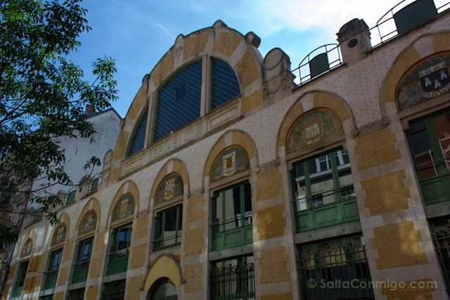 Bruselas Art Nouveau Palacio del Vino Fernand Symons