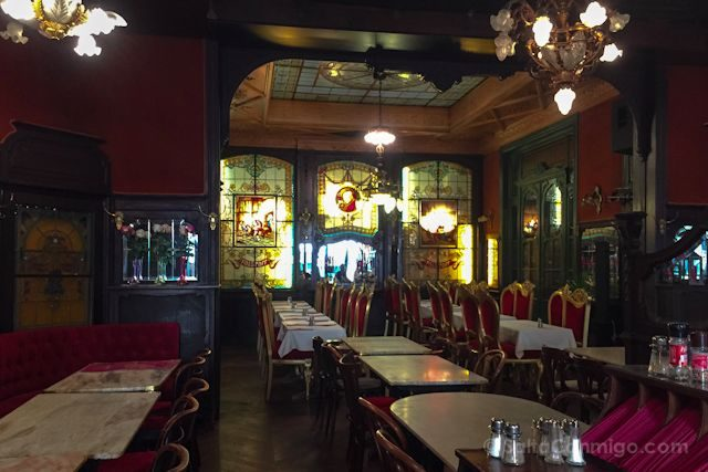 Bruselas Art Nouveau Taberna Falstaff Interior