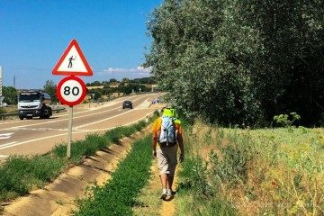 Camino Santiago Peregrinos Atencion