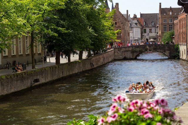 Flandes Brujas Canales