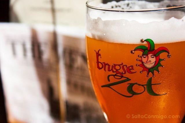 Flandes Brujas Cerveceria De Halve Maan Cerveza