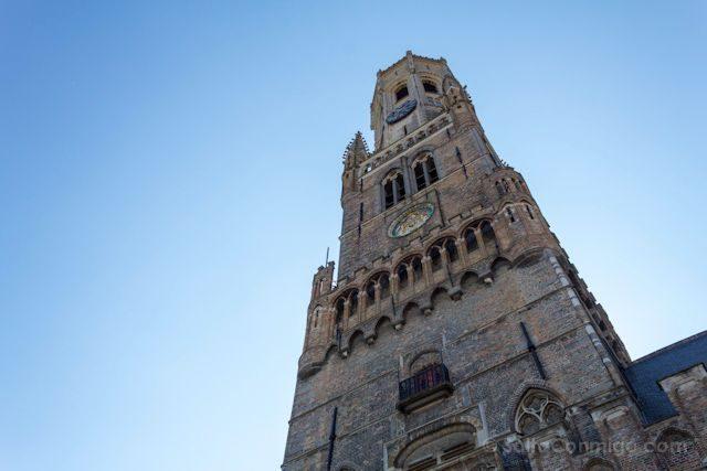 Flandes Brujas Markt Belfort van Brugge
