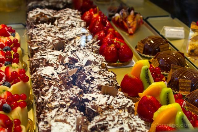 Flandes Brujas Pasteles Bombones Chocolate