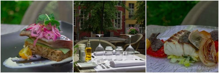 Flandes Brujas Restaurante Pergola Kaffee