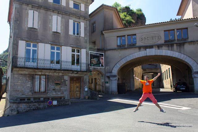 Francia Roquefort-sur-Soulzon Salto