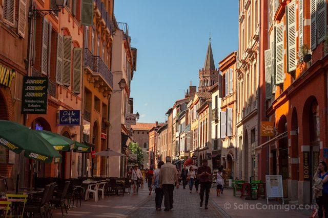 Francia Toulouse Calles