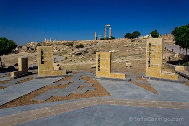 Jordania Amman Entrada Ciudadela