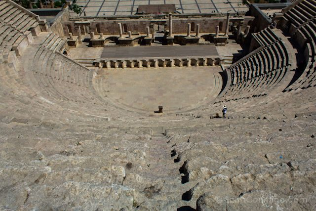 Jordania Amman Teatro Romano Arriba