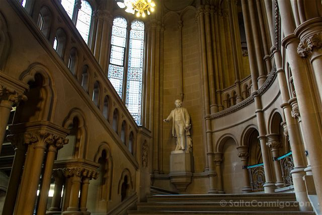 Manchester Ayuntamiento Interior Escalera