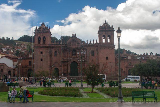 Peru Cuzco Plaza Armas Catedral