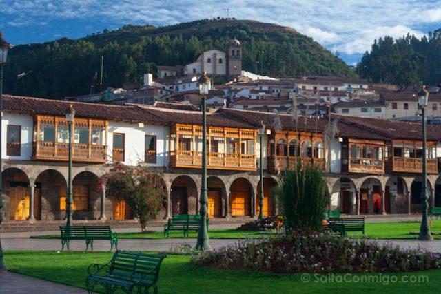 Peru Cuzco Plaza Armas San Blas