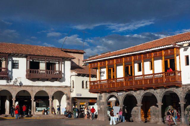 Peru Cuzco Plaza Armas Ombligo del Mundo