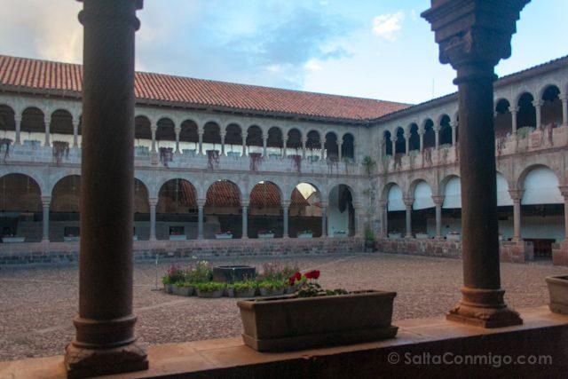 Peru Cuzco Qoricancha Santo Domingo Claustro
