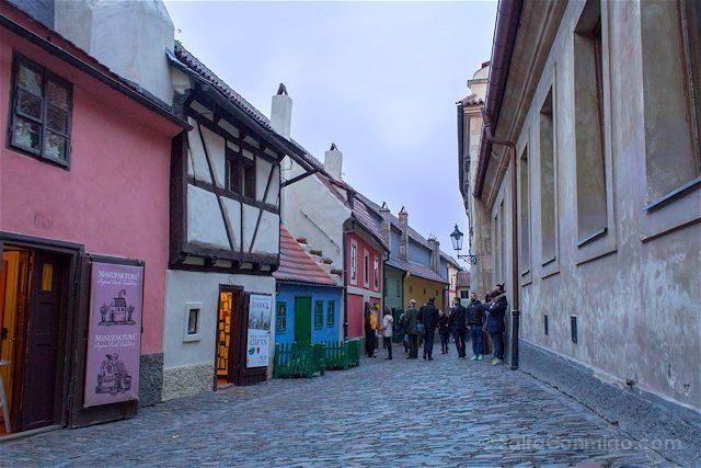 Republica Checa Praga Callejon Oro