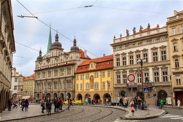 Republica Checa Praga Calles
