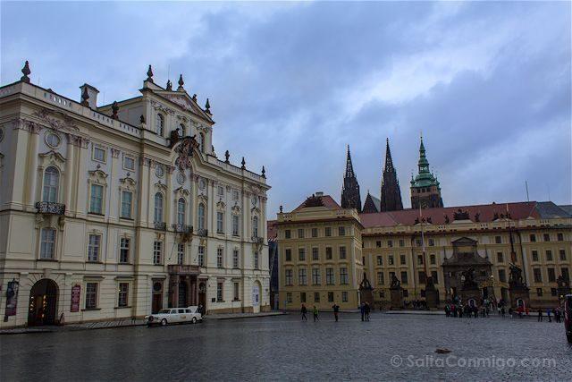 Republica Checa Praga Galeria Nacional Entrada Castillo