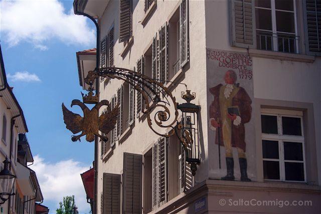 Suiza Lucerna Goethe
