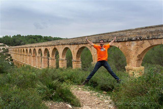 Tarragona Romana Tarraco Acueducto Ferreres Pont Diable Salto