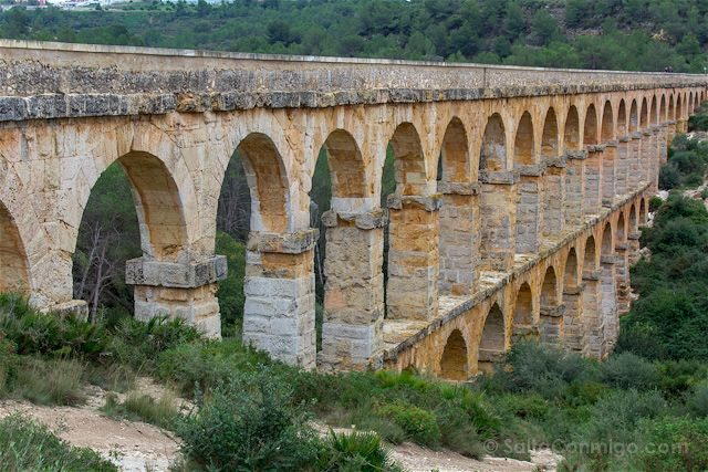 Tarragona Romana Tarraco Acueducto Ferreres Pont Diable
