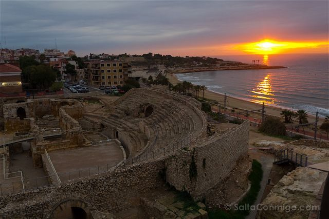 Tarragona Romana Tarraco Anfiteatro Balcon Mediterraneo