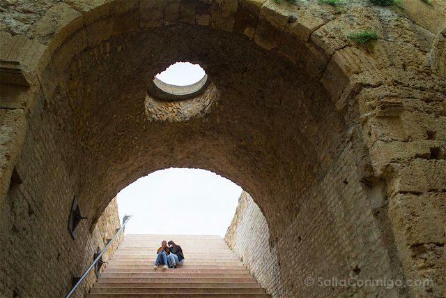 Tarragona Romana Tarraco Circo Escaleras
