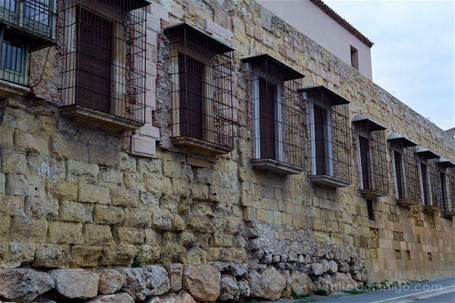Tarragona Romana Tarraco Muralla Balcones
