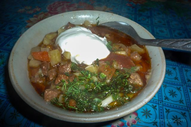 Uzbekistan-Samarcanda Restaurante Pan Lagman