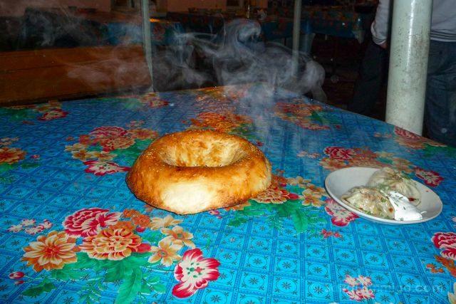 Uzbekistan-Samarcanda Restaurante Pan Mantu
