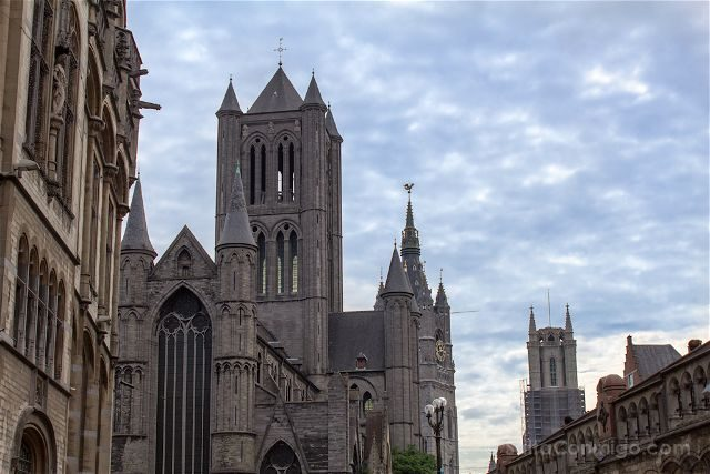 Belgica Flandes Gante Iglesia San Nicolas