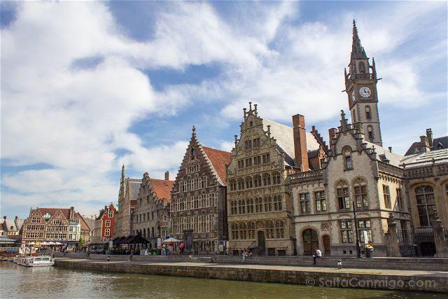Belgica Flandes Gante Muelle Greslei
