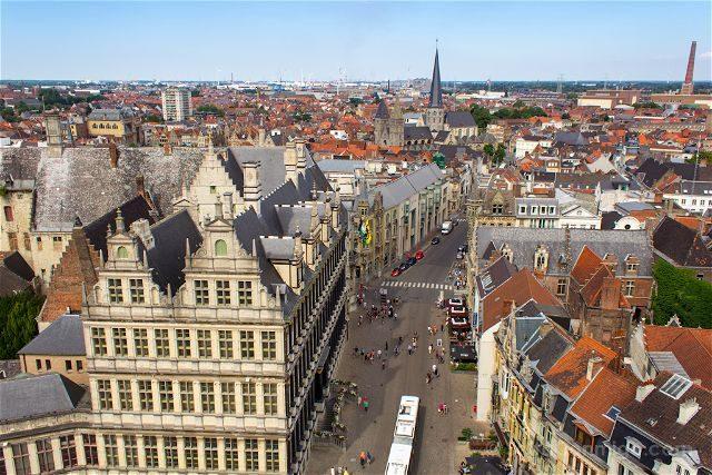 Belgica Flandes Gante Torre Belfort