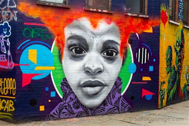 Belgica Flandes Gante Werregarenstraat Graffiti