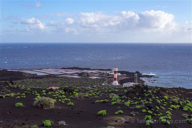 Canarias La Palma Salinas Fuencaliente Panorama