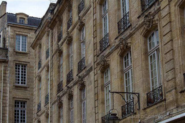 Francia Aquitania Burdeos Barrio Saint Pierre Fachadas
