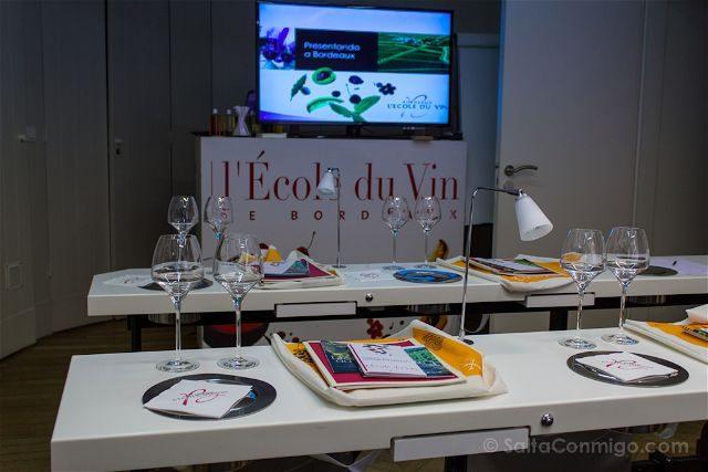 Francia Aquitania Burdeos Ecole Du Vin