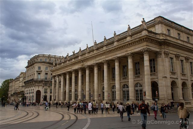 Francia Aquitania Burdeos Gran Teatro