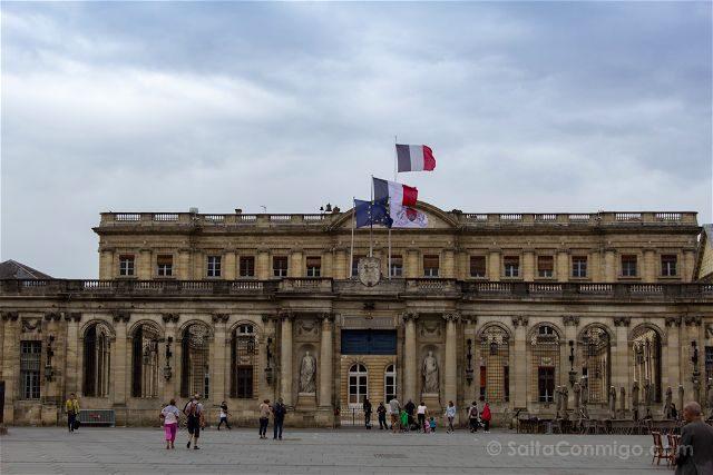 Francia Aquitania Burdeos Palacio Rohan Ayuntamiento