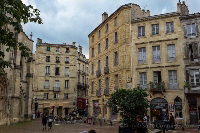 Francia Aquitania Burdeos Plaza
