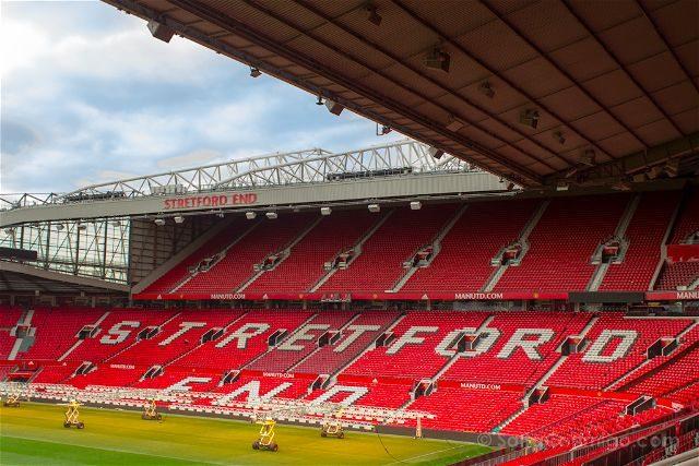 Inglaterra Manchester United Old Trafford Fondo Stretford
