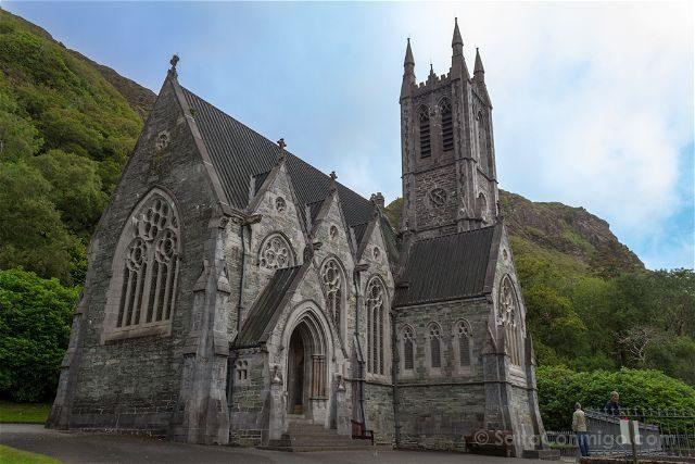 Irlanda Abadia Kylemore Iglesia