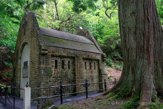 Irlanda Abadia Kylemore Mausoleo Henry