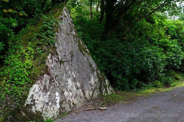 Irlanda Abadia Kylemore Piedra de Planchar