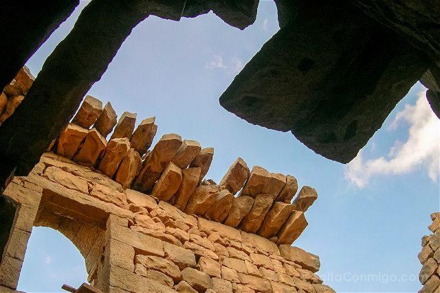 Jordania Castillos Desierto Qasr Al-Azraq Techos Basalto