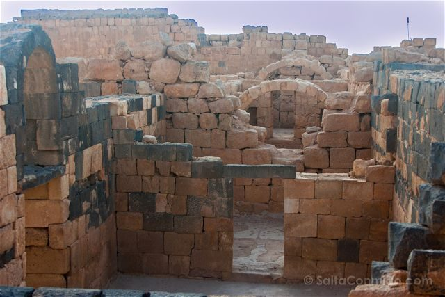 Jordania Castillos Desierto Qasr Al-Hallabat Complejo