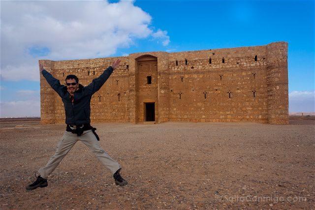 Jordania Castillos Desierto Qasr Kharana Salto