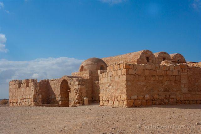 Jordania Castillos Desierto Qusair Amra Exterior Paisaje