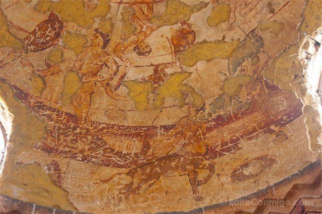 Jordania Castillos Desierto Qusair Amra Frescos