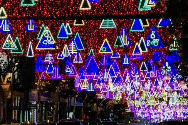 Luces Navidad Madrid Calle Serrano