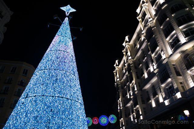 Madrid Red San Luis Arbol Navidad